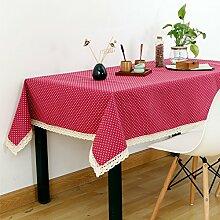 Tuch Kleine Frische Tapete,Garten Rechteckig Baumwolle Leinen Quadrat Tuch,Einfaches Modernes Tuch-A 150x220cm(59x87inch)