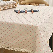 Tuch Kleine Frische Tapete,Garten Rechteckig Baumwolle Leinen Quadrat Tuch,Einfaches Modernes Tuch-G 100x160cm(39x63inch)