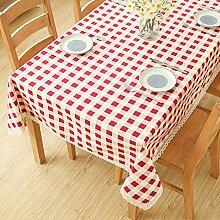 Tuch Tischdecke,Tischseitenschrank Couchtisch,Rechteckige Tischdecke-A 90x90cm(35x35inch)