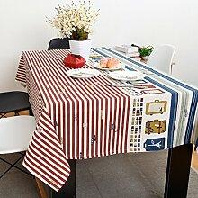 Tuch/Tischdecken/Europäische einfaches Tuch/Moderne Garten Baumwolle Tischdecke/ Mode Tischdecke/ Tischtuch-B 110x110cm(43x43inch)