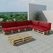 Tuduo Garten-Palettensofa 15-tlg. Garten Lounge