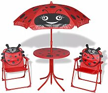 Tuduo Garten-Sitzgruppe für Kinder Gartengarnitur