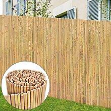 Tuduo Gartenzaun Bambus 250x195 cm braun