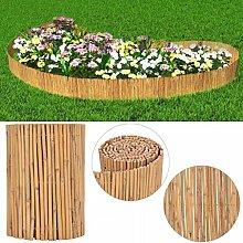 Tuduo Gartenzaun Bambus braun Schutzzaun