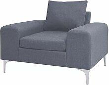 Tuduo Sessel mit Kissen, Sitzbreite 58 cm, Stahl