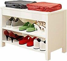 Tür ändern Schuhe Hocker Tragen Schuh Leder