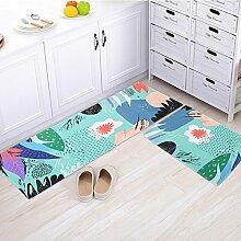 Tür-anti-rutsch-matten/Die Tür,Zimmer,Bett,Wasserabsorbierenden Matten/Schlafzimmer,Bad,Bad,Küche Matten/Fußabtreter-B 60x90cm(24x35inch)