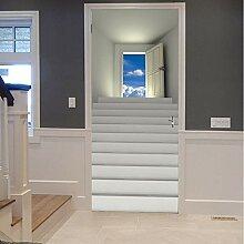 Tür Aufkleber 3D Landschaft Für Wohnzimmer