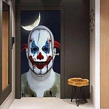 Tür-Aufkleber, Halloween-Geister, Tür-Aufkleber,