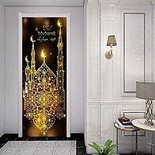 Tür-Aufkleber, muslimischer Eid al-Fitr