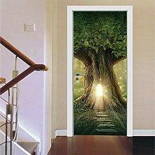 Tür Aufkleber Stilvolle 3D Wasserdicht