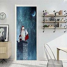 Tür-Aufkleber, Wandkunst-Aufkleber,