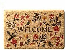 Tür Coil Pad Tür Teppich Home Fußmatte