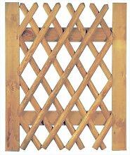 Tür für Jägerzaun Scherenzaun B100 x H120 cm