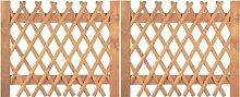 Tür für Jägerzaun Scherenzaun B300 x H120 cm