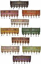 Tür hängen Toran indische Handarbeit bestickt Baumwolle Tür Dekoration Gobeli