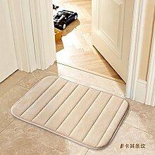 Tür Matte Matten Badezimmer Matten, 60 × 160 Cm, Karte Ihre Streifen