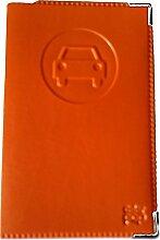 Tür Papiere Autos orange