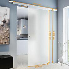 Tür Schiebetür Glas satiniert 775x2035
