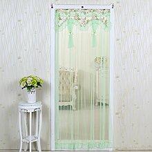 Tür vorhang/anti-mosquito screen door curtain/sommer,moskitonetzbett,spitze, vorhang/salmonella vorhänge/ wand vorhänge-D 90x200cm(35x79inch)