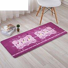 Tür zu verhindern schiebetür zimmer bett mat,schlafzimmer badezimmer badezimmer küche mat-M 50x120cm(20x47inch)