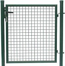 Tür zum Maschendrahtzaun - Höhe 80 cm/Breite 100