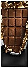 Türaufkleber, 3D-Tapete mit Schokoladenmuster,