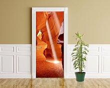 Türaufkleber - Antelope Canyon - 90 x 200 cm -