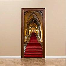 Türaufkleber DIY Tür Aufkleber Wandbilder Kirche