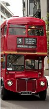 Türaufkleber Doppeldeckerbus Bloomsbury Market