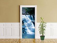 Türaufkleber - Drakensberge - Wasserfall - 90 x