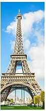 Türaufkleber Eiffelturm Paris Skyline Frankreich