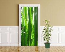 Türaufkleber - Gras - 90 x 200 cm - Aufkleber -