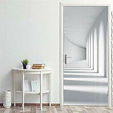 Türaufkleber Korridor Landschaft Tür Aufkleber