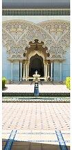 Türaufkleber Marokkanische Architektur