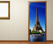 Türaufkleber Paris Eiffelturm Frankreich Skyline