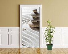 Türaufkleber - Relaxing - 90 x 200 cm - Aufkleber
