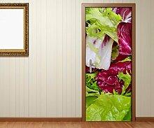 Türaufkleber Salat gesund Essen Küche Gemüse