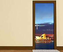 Türaufkleber Sydney - Australien - Opera House