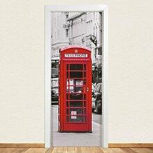 Türaufkleber Telephone 17 Stories