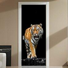 Türaufkleber Tiger