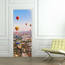 Türaufkleber Türkischer Heißluftballon Für