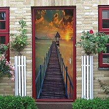 Türaufkleber Türplakat Tür Tapete Tür