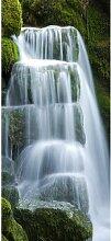 Türaufkleber Wasserfall Bloomsbury Market