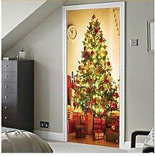 Türaufkleber Weihnachtsdekoration Für Zuhause