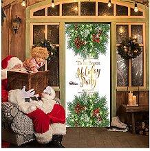 Türaufkleber Weihnachtsschmuck Für Zuhause 2019