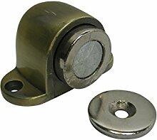 Türfeststeller Tür Feststeller Türfesthalter Türstopper Magnet Bronze matt Messing altmessing