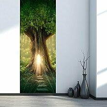 Türfolie Selbstklebend 3D,Tür Fototapete für