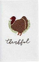 Türkei-Handtuch mit französischem Knoten.