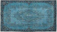 Türkis Eingefäbter Türkischer Teppich